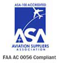 ASA-100 Accredited and FAA-0056 AC Compliant Distributor